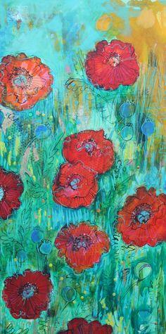 Wild Poppy Garden 2