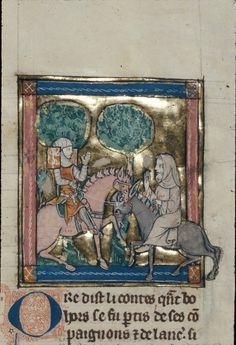 Royal 14 E III Title Estoire del Saint Graal, La Queste del Saint Graal, Morte Artu Origin France, N. (Saint-Omer or Tournai?) Date 1st quarter of the 14th century Language French Folio 118