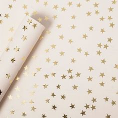 Sugar Paper® Gold Foil Stars on Blush Wrapping Paper- : Target Gold Wrapping Paper, Wrapping Paper Design, Gold Paper, Wrapping Papers, Wrapping Ideas, Wrapping Gifts, Paper Paper, Brown Paper, Kraft Paper
