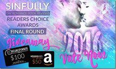 Readers' Choice Awards 2016: Final Round - Top 10   @sinfully_mmblog #mmromance #gayromance #gayfiction #giveaway #lgbt #gay #books