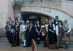 Adventurers Club! Pleasure Island. Jump up for Jinkies. Like being a game of Clue!