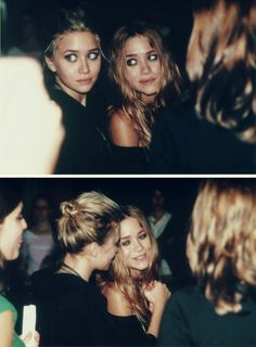 I grew up with Mary Kate and Ashley shows, books, clothes, everything. My sister and I were obsessed with them....