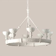 2205 Carter Hanging Fixture - Paul Ferrante white plaster x Blue Chandelier, Chandelier In Living Room, Vintage Chandelier, Pendant Chandelier, Pendant Lighting, Ceiling Lamp, Ceiling Lights, Modern Lighting Design, Light Design