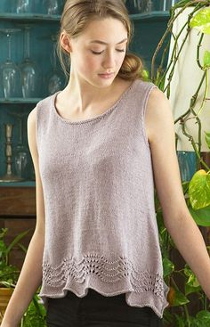 Free Knitting Pattern for Inez Top