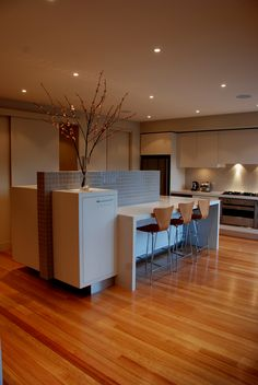 Modern Interior Design Kitchens Renovations By AMG Architects Geelong Offices A Challenging Space That