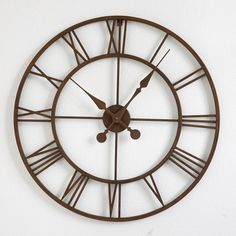 Reloj de pared metal Zivos
