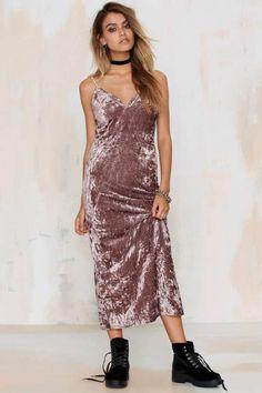 Wicked Game Crushed Velvet Dress
