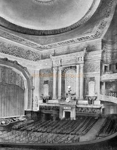 Croydon, Theatres, Auditorium, Old Movies, Movie Theater, Old Photos, 1920s, The Darkest, Architecture Design