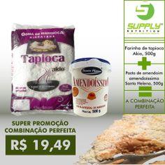 Só a Supply proporciona para seus clientes a combinação perfeita, tapioca com pasta de amendoim.  ligue já é prove o sabor da perfeição.   SUPPLY Rio Verde – 3094-4294 (Tele Entrega) SUPPLY Campinas – 3942-7035 (Tele Entrega) SUPPLY – TeleVENDAS – 62 4008-8133 Whatsapp Supply: 9965-0539  ENTREGA GRÁTIS em compras acimda de 60,00 reais (Goiânia e Aparecida)
