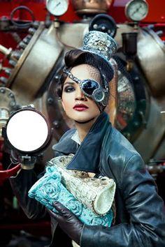 Steampunk Elegance by Ali Fateh