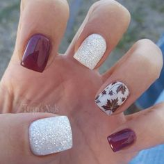 Fall glitter @taryns.nails