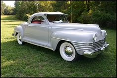1942 Chrysler Windsor 3-Window Coupe Chrysler Voyager, Rim And Tire Packages, Fargo Truck, Vintage Cars, Antique Cars, Desoto Cars, Chrysler Cars, Chrysler Vehicles, Chrysler Windsor