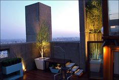 contemporary design solutions for your London rooftop terraces