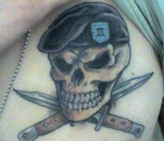 military tattoo | STRANGE MILITARY TATTOOS - SKULL