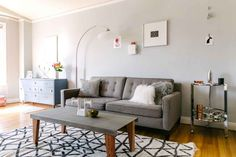 San Francisco studio style - sleep in a closet to maximize style and space Refinery29