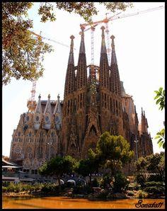 Barcelona, Spain. The greatest Gaudi work of art