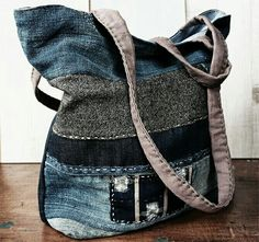 DUNES handmade Jeans bag