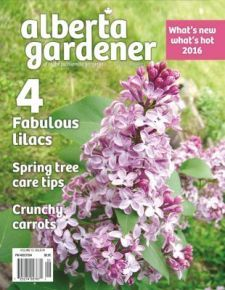 Alberta Gardener Early Spring issue 2016