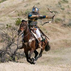 persian horseman