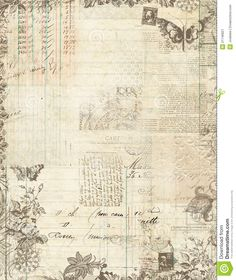 Botanical Vintage Floral Scrapbook Frame - Download From Over 35 Million High Quality Stock Photos, Images, Vectors. Sign up for FREE today. Image: 21746821