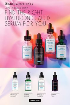 Love Your Skin, Good Skin, Diy Hair And Face Masks, Skin Anatomy, Beauty Over 40, Anti Aging Serum, Hyaluronic Acid, Moisturizer, Makeup Things