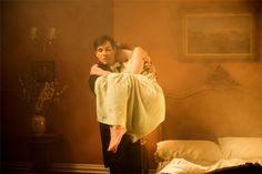 #DowntonAbbey | Thomas Barrows, rescuing Lady Edith from the fire in her bedroom