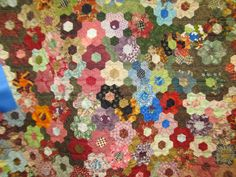 The HEXIE Blog: Hexie at Mountain Quiltfest