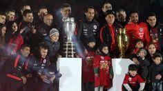 La Roja celebró en casa después de una semana