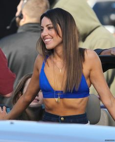 Aubrey Plaza at the on the Set of 'Dirty Grandpa (16 January, 2015)
