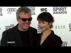 Danny Huston Olga Kurylenko At The 2012 Film Independent spirit awards - http://hagsharlotsheroines.com/?p=96654