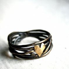 cute heart ring