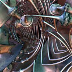 Fanfare - Stuart Painter (3D Fractal)
