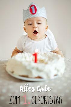 Es braucht gar nicht viel Aufwand, um den ersten Geburtstag für das Baby zu etwas ganz Besonderem zu machen. Im Gegenteil: weniger ist mehr.