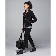 8e644132c17ec Lululemon Lab Shadow Jacket Black Lulu Lemon jacket new with tags!