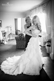 Mother and Daughter getting ready for wedding picture idea
