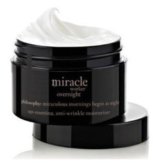 Philosophy, Miracle Worker Overnight night cream Age-resetting, anti-wrinkle moisturizer Philosophy Makeup