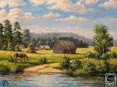 Панасюк Наталья. На реке