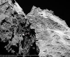 Fantastica nuova immagine della cometa 67P/Churyumov-Gerasimenko dalla sonda europea Rosetta