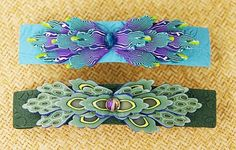 Kristie Foss Creations: My First Barrettes