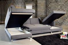 Indomo - Coast sofa - Sofa med chaiselong hos BoShop - Sofaer i Aarhus og Aalborg Aarhus, Sofa Design, Small Living, Chair, Furniture, Home Decor, Decoration, Google, Products