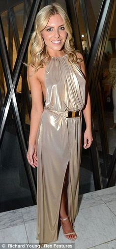 Mollie King #gold