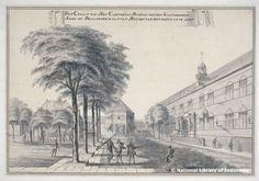 Johannes Rach ; Benteng Batavia = Castle of Batavia | from National Library of Indonesia