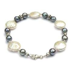 t. Sieraden zilver - Handgemaakte armband:<br>parels<p>