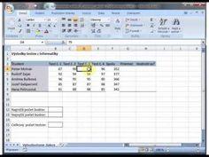 Zakladne funkcie programu Excel - YouTube