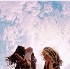 friends // sky // summer // photography - Olivia K