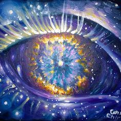 The celestial eye - NGC 6751 nebula