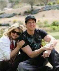 Zak Bagans and his mom