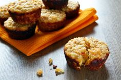 Carrot and apple muffins via MyFamily.kiwi