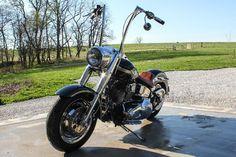 2003 Harley-Davidson® FLSTF/I-ANV Fat Boy® Anniversary (Black), Clever, Missouri (456590) | ChopperExchange.com