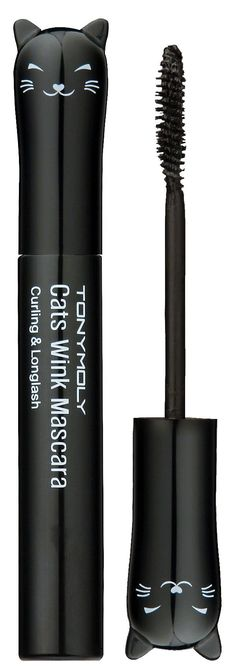 TONYMOLY cats wink mascara. Omfg I wonder if it's any good? It's so damn adorable! I'm such a sucker for packaging.